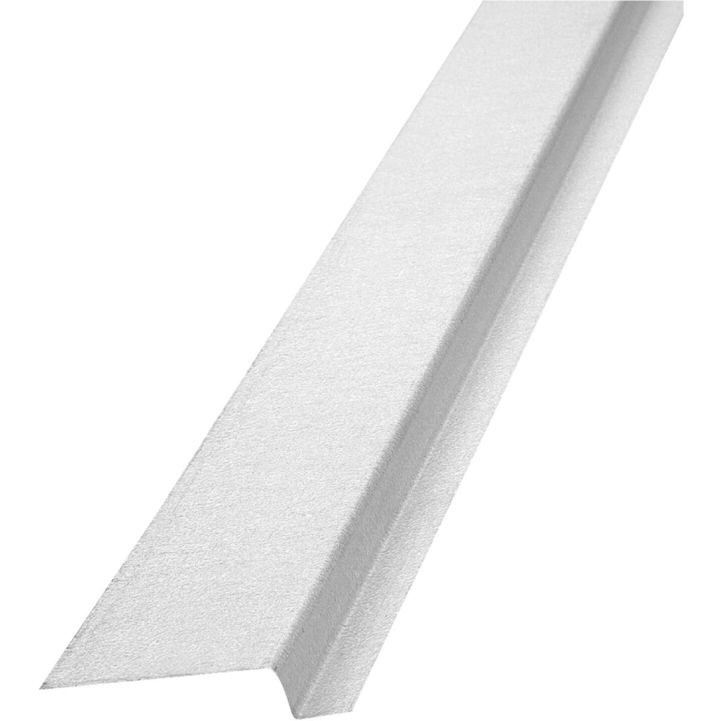 NorWesco 3/8 In. x 1/2 In. x 2-1/8 In. x 10 Ft. Mill Galvanized Ply Edge Z-Style Flashing Image 1