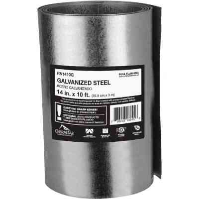 NorWesco 14 In. x 10 Ft. Mill Galvanized Roll Valley Flashing