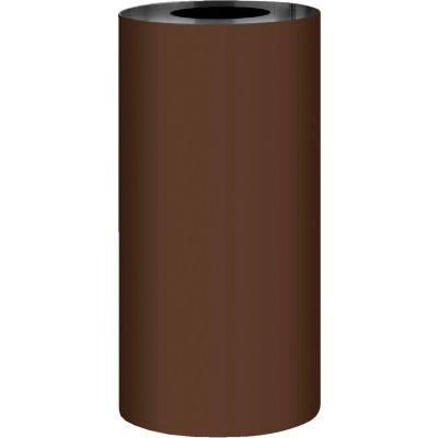 NorWesco 10 In. x 50 Ft. Brown Galvanized Roll Valley Flashing
