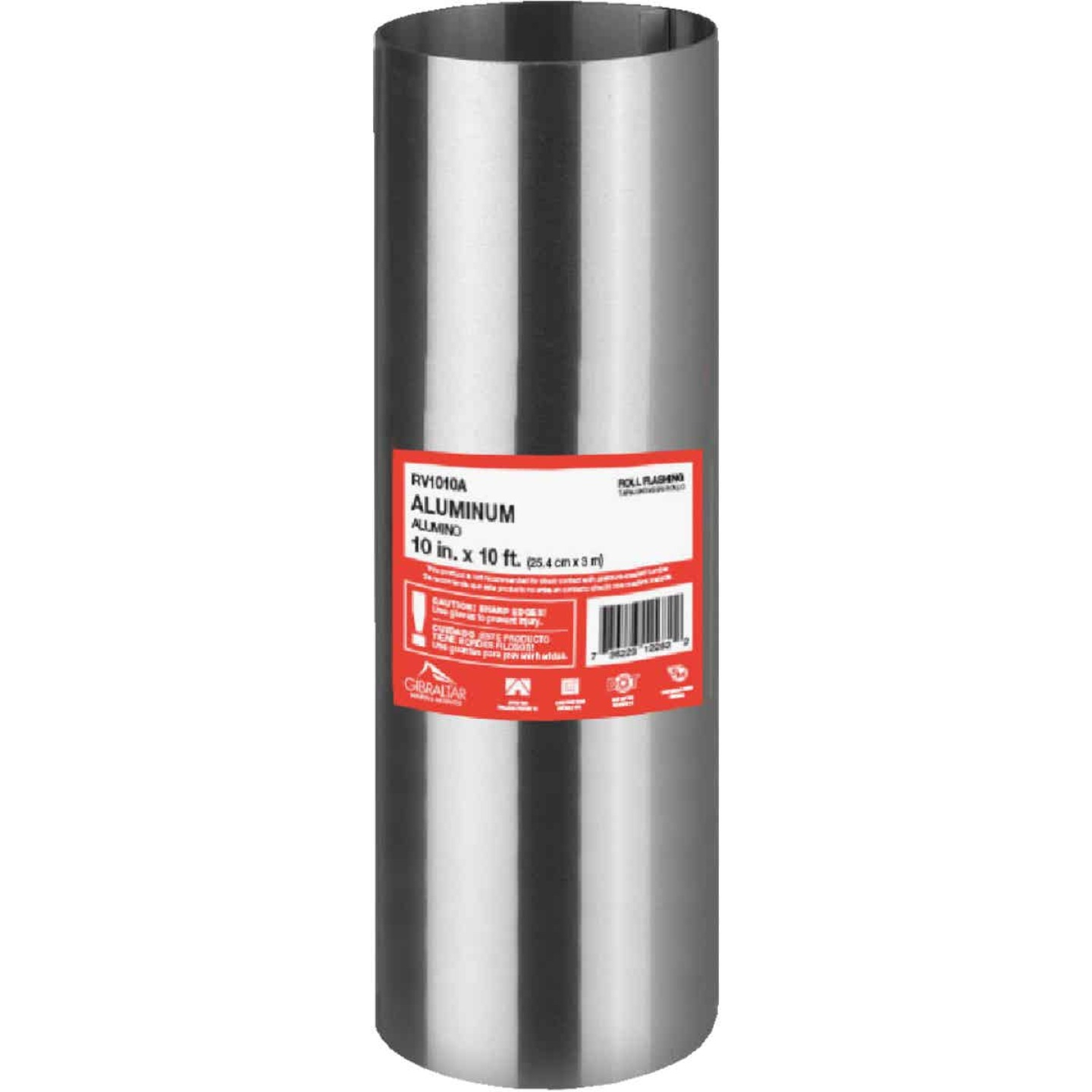 NorWesco 10 In. x 10 Ft. Mill Aluminum Roll Valley Flashing Image 1
