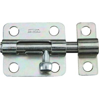 National 2-1/2 In. Zinc Steel Door Barrel Bolt