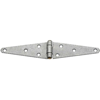 National 1.85 In. x 5 In. Galvanized Heavy-Duty Strap Hinge