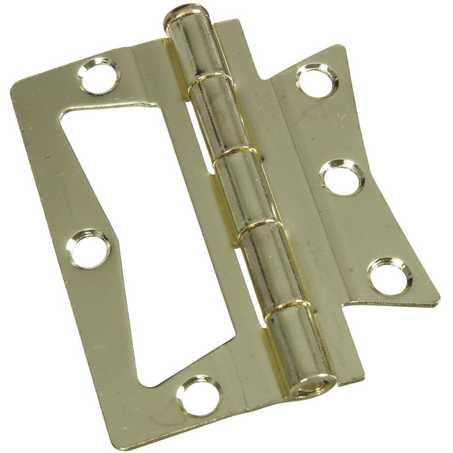 National 3 In. x 3 In. Non-Mortise Hinge (2 Count) Image 1