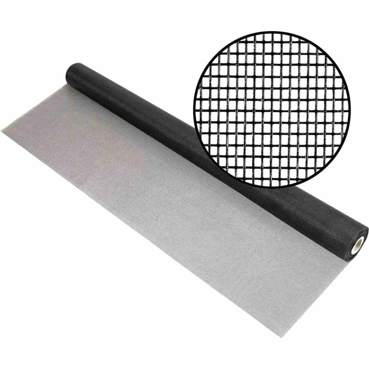 Phifer 48 In. x 100 Ft. Charcoal Fiberglass Mesh Screen Cloth Image 1