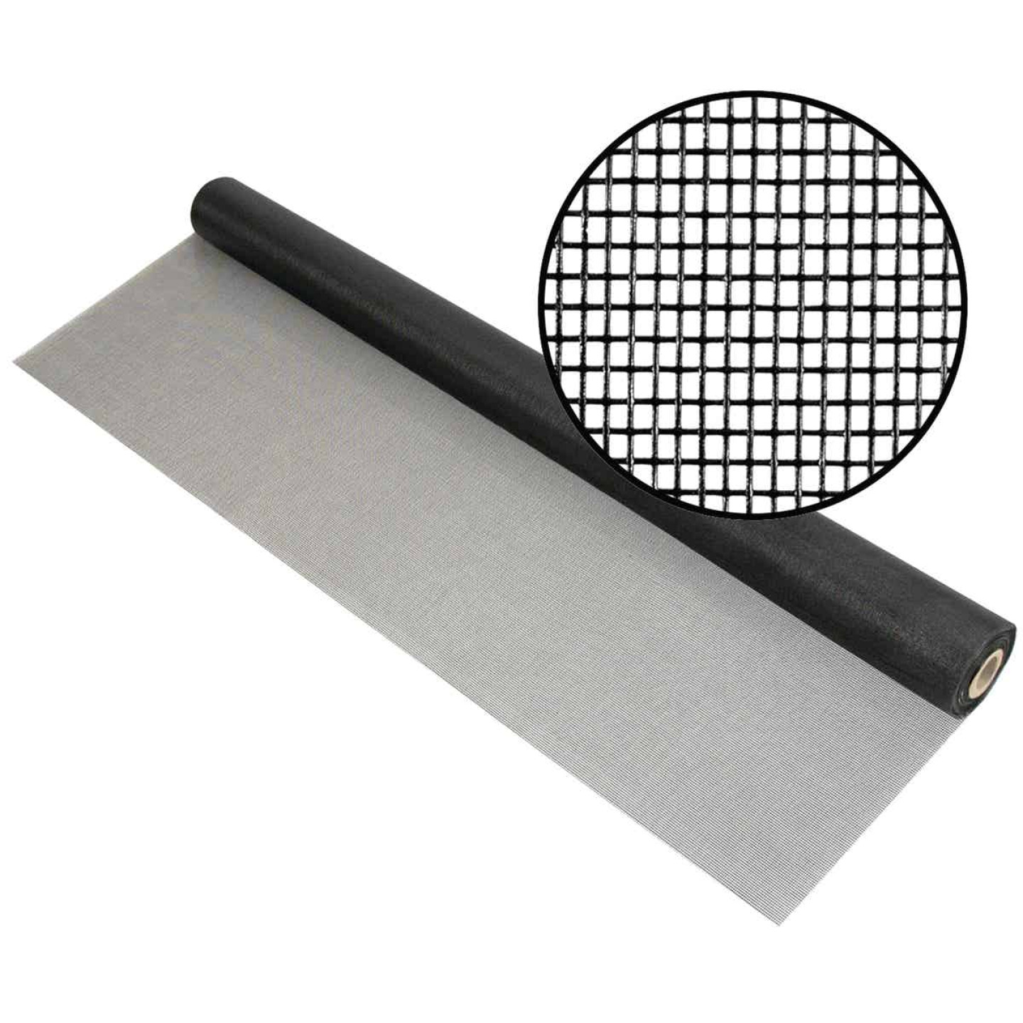 Phifer 36 In. x 100 Ft. Charcoal Fiberglass Pool Screen Image 1