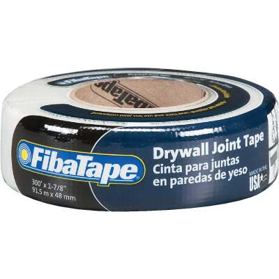 FibaTape 1-7/8 In. x 300 Ft. White Self-Adhesive Joint Drywall Tape