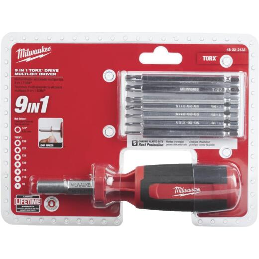 Milwaukee 9-in-1 TORX Multi-Bit Screwdriver