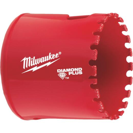 Milwaukee Diamond Plus 2 In. Diamond Grit Hole Saw
