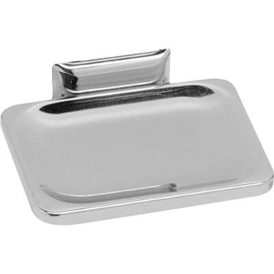 Decko Chrome Soap Dish