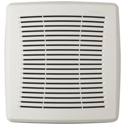 Broan Economy 9-1/4 In. W. x 9-3/4 In. L. White Exhaust Fan Replacement Grille