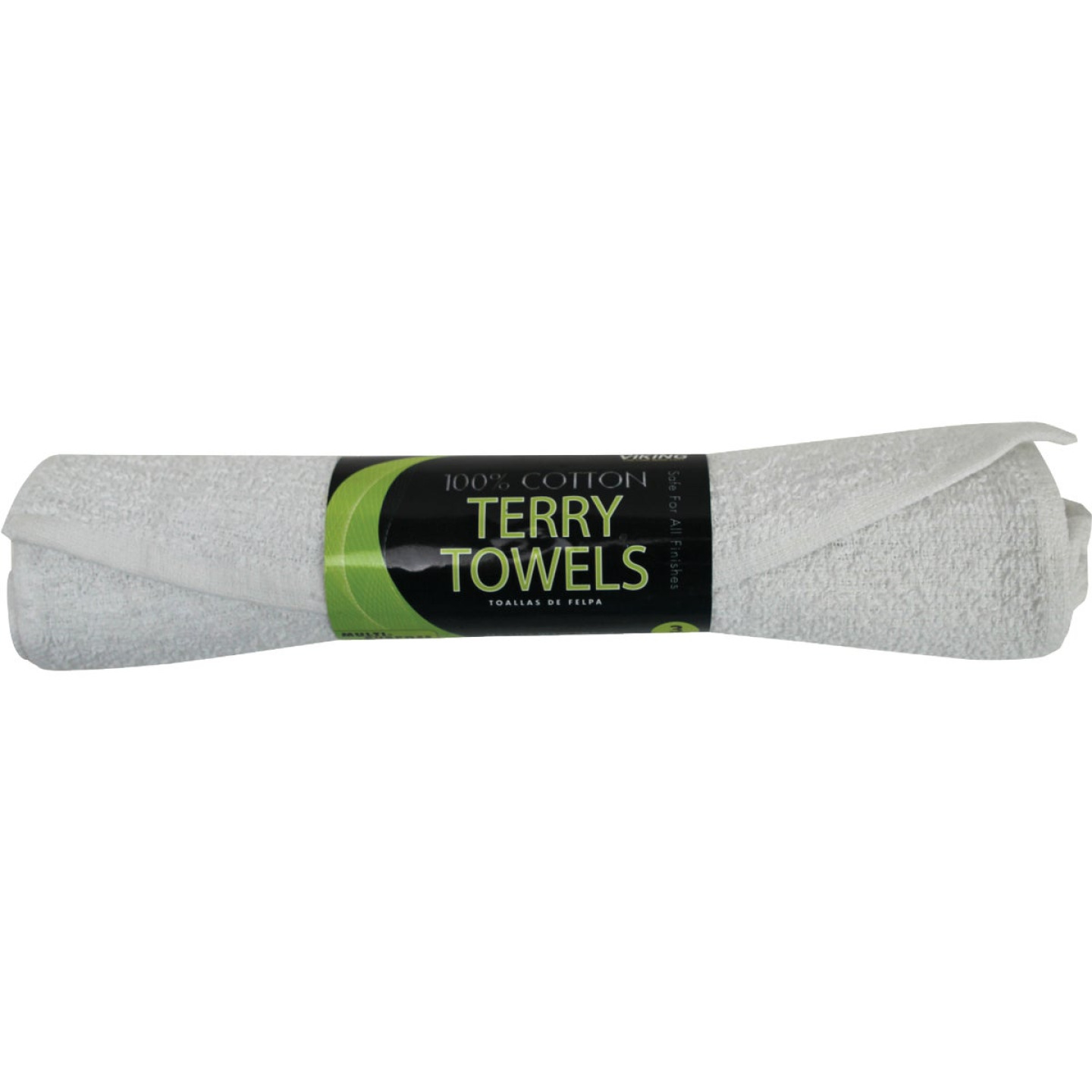 Viking 14 In. x 17 In. White Terry Cloth Towels (3-Pack) Image 1