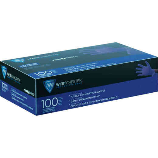West Chester Protective Gear Posi Shield Small Exam Nitrile Disposable Glove (100-Pack)