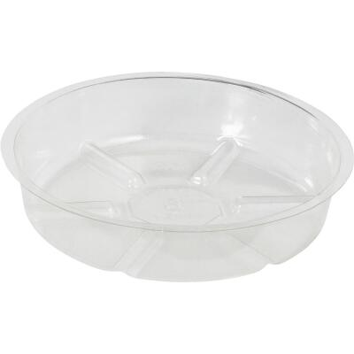 Best Garden 6 In. Clear Vinyl Flower Pot Saucer
