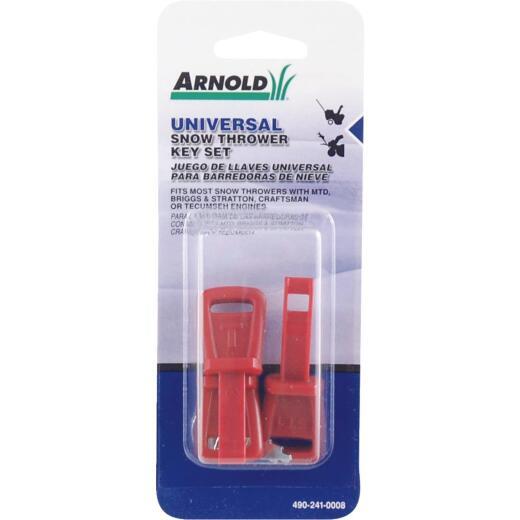 Arnold Universal Snow Blower Key Set (4-Piece)