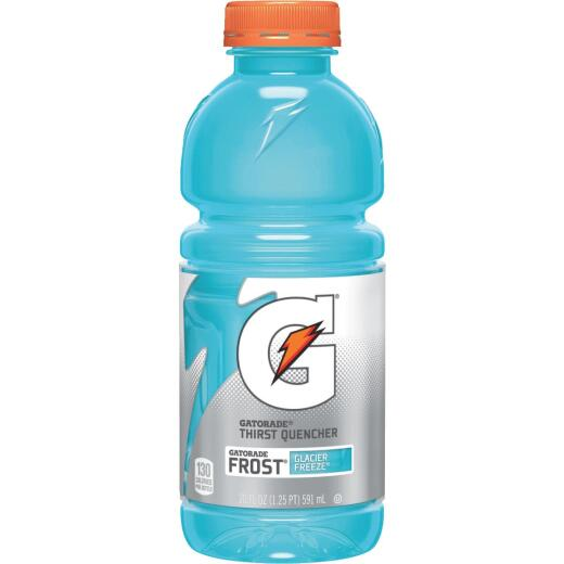 Gatorade 20 Oz. Glacier Freeze Wide Mouth Thirst Quencher Drink (24-Pack)