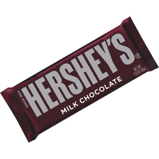 Hershey's 1.55 Oz. Milk Chocolate Candy Bar
